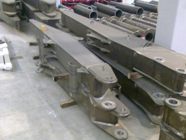 We.Ma. Srl - Assembly and welding of jibs for cranes